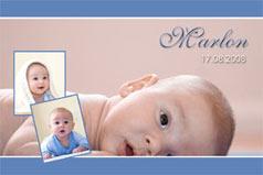 Einladung Taufe, Danksagungskarte Taufe