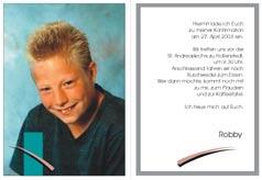 konfirmations einladungskarten – sleepwells, Einladungsentwurf