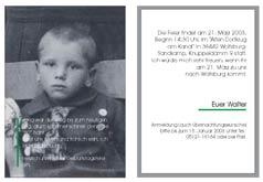 Geburtstag, Walter Wird 80!