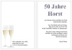 Tinnitus Free Sprüche Für Einladungskarten 50 Geburtstag