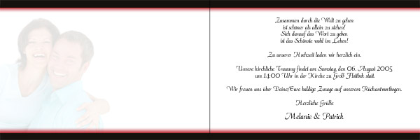 Einladung Hochzeit Und Taufe 2 Vorlagen Design