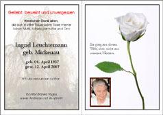 trauerkarten, einladung, einladungskarten zur trauerfeier, Einladung